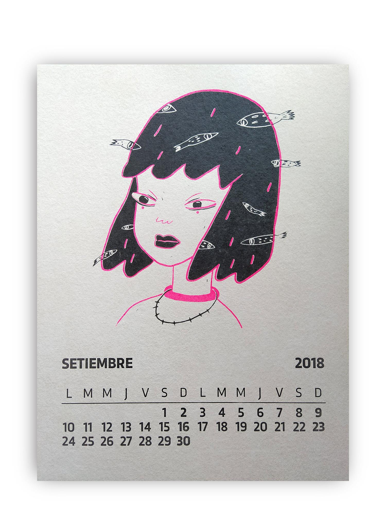 Mariel Garbarino / Serigrafía